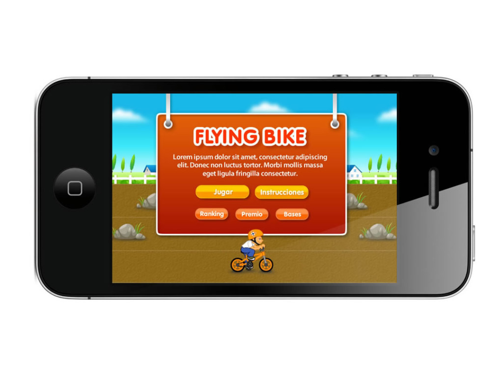 FAN APP FLYING BIKE